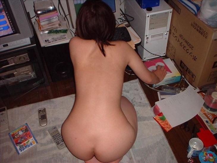 家庭内裸族の素人 37