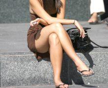 素人の生足美脚の街撮り!生足が素敵だった可愛い女の子や綺麗なお姉さん
