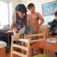 「ダメ…ダメ…聞いてないですぅ…」三上悠亜ちゃんにドッキリで即ハメ!食事中にいきなり本番ハメ倒し