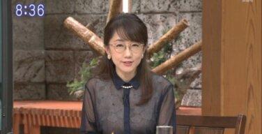 唐橋ユミアナ(47) メガネ美人おばさんのスケスケ下着